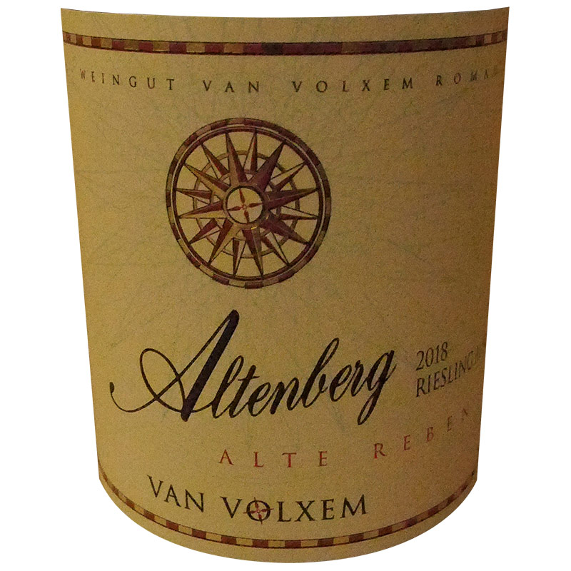2018 ALTENBERG RIESLING AUSLESE