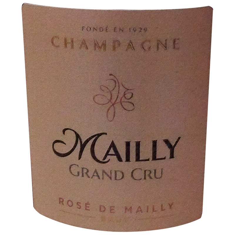 CHAMPAGNE MAILLY ROSÉ BRUT