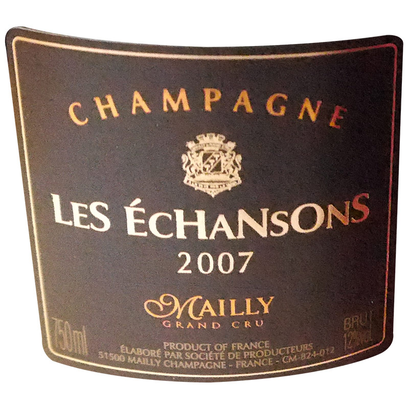 2007 CHAMPAGNE MAILLY LES ECHANSONS