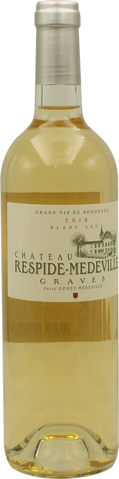 2018 CHATEAU RESPIDE MEDEVILLE BLANC