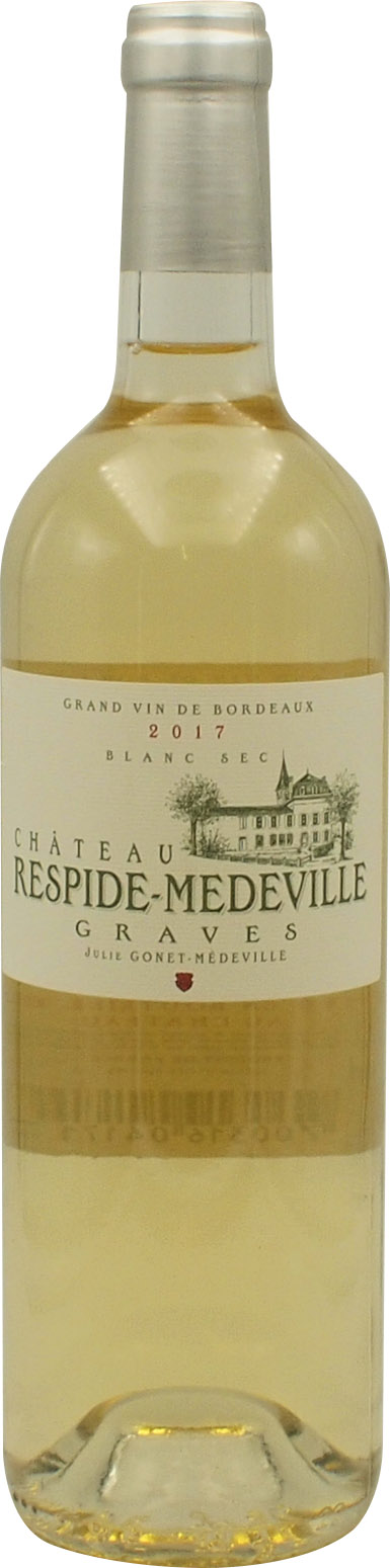 2017 CHATEAU RESPIDE MEDEVILLE BLANC