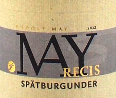 2012 RECIS SPÄTBURGUND.RETZBACHER BENEDIKTUSBERG