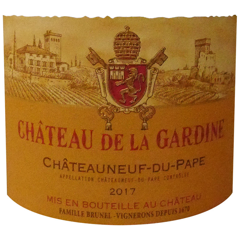 "2017 CHATEAUNEUF DU PAPE ROUGE ""Tradition"""