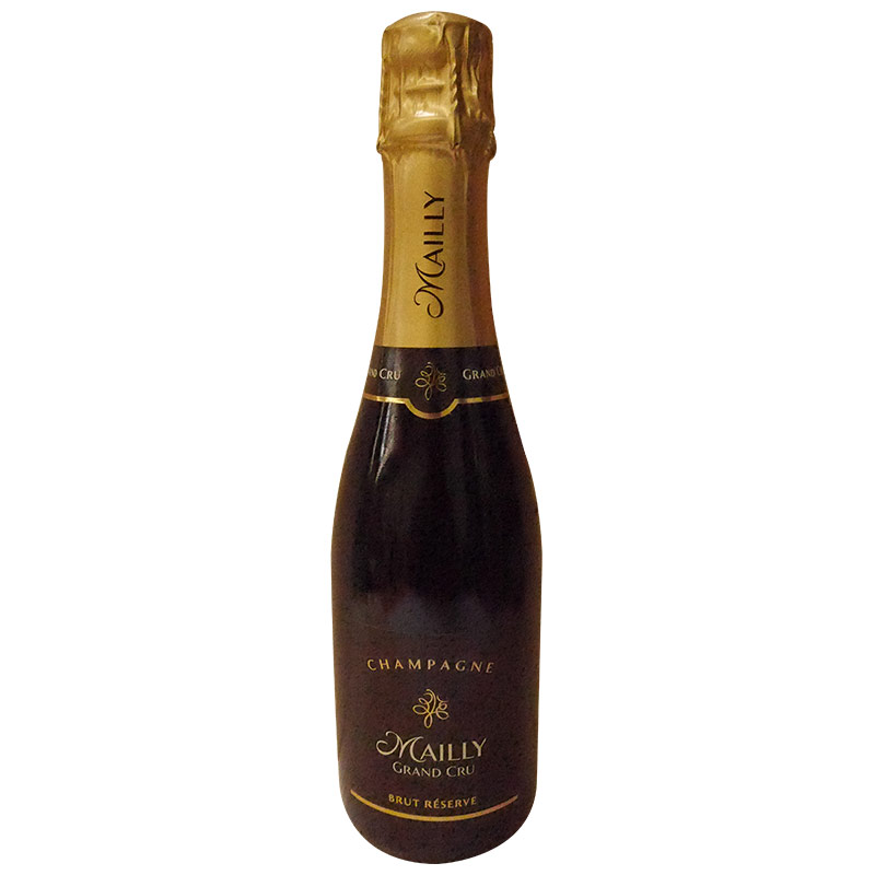 CHAMPAGNE MAILLY BRUT RESERVER - Halbe Flaschen ( 0,375l )